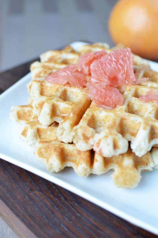 _Grapefruit waffles (1)