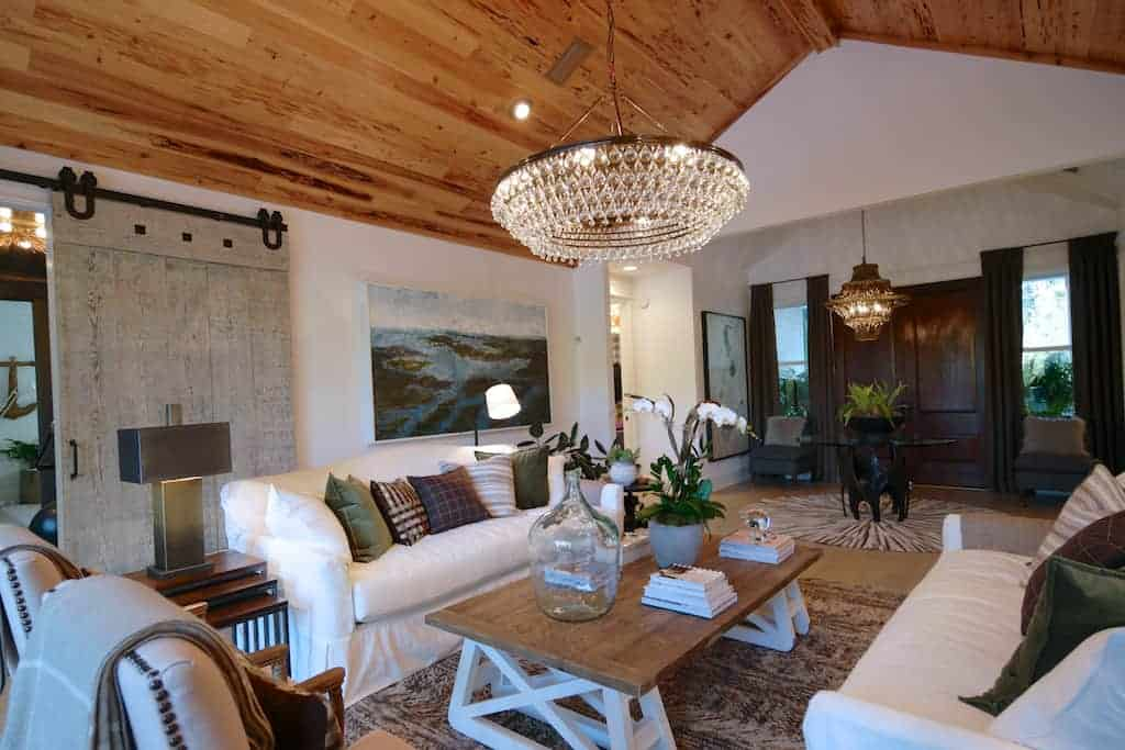 HGTV dream home 2017 living room