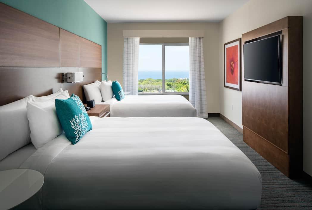 HNMRI 1Bdrm 2Queen Ocean View Bedroom OVOG
