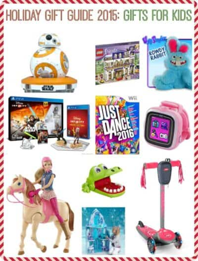 Holiday Gift Guide 2015 Gift for Kids