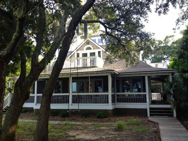 Our beautiful rental home on Bald Head Island, North Carolina.