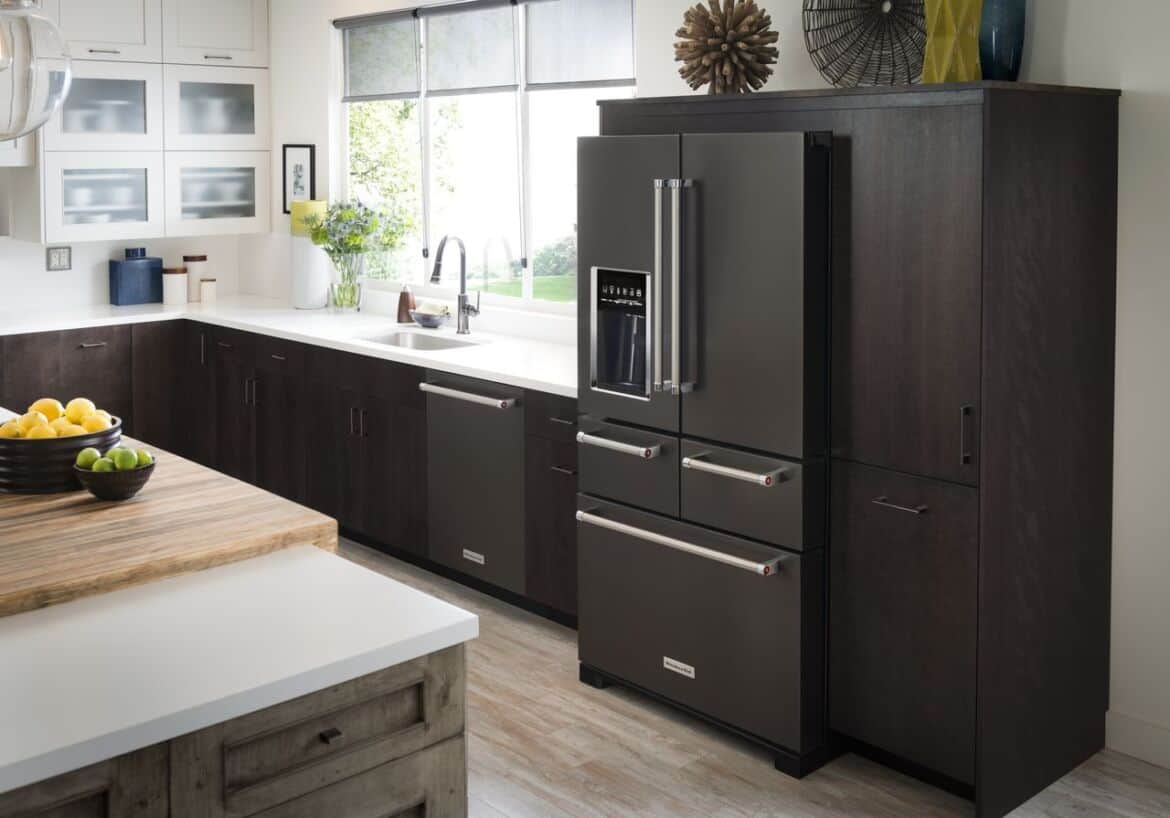 black kitchen cabinets with stainless steel appliances 5 kitchen design inspirations for new black stainless 12401