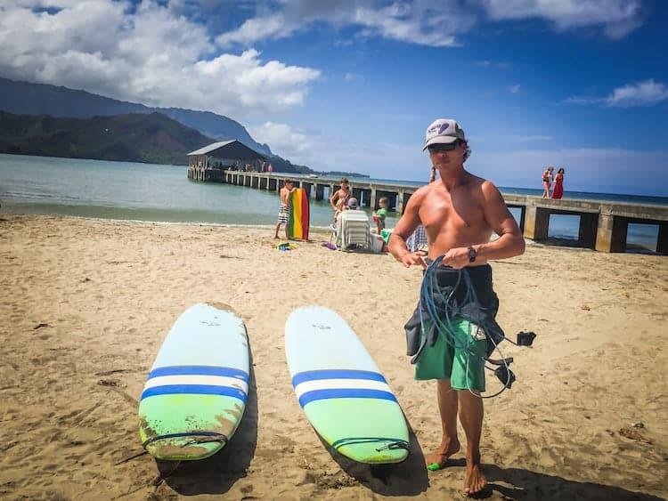 Kauai Surfing Adventures