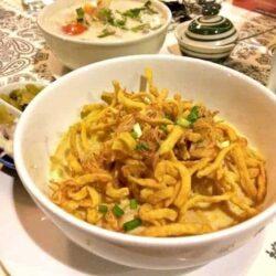 Discovering Chiang Mai's famous Khao Soi noodles
