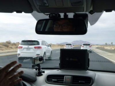 Kia autonomous vehicle