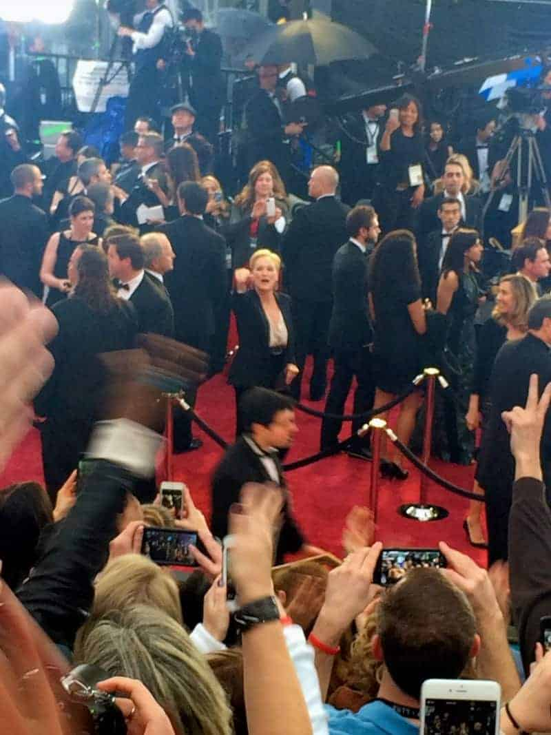 Meryl Streep is already practicing her reaction to Patricia Arquette's rousing acceptance speech!