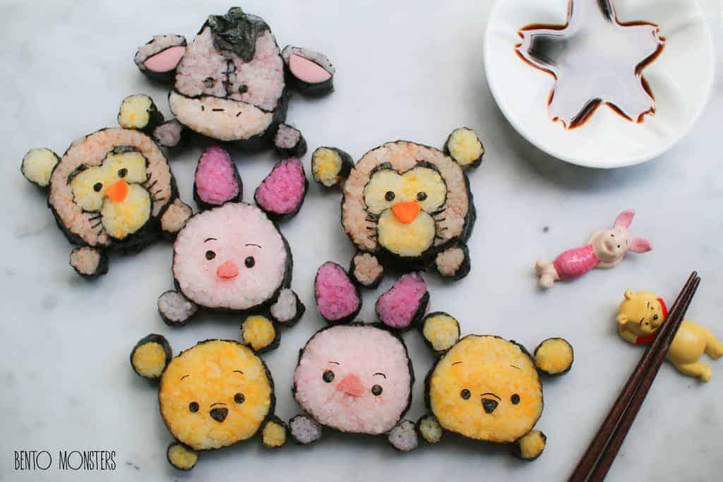 Pooh Bento Art