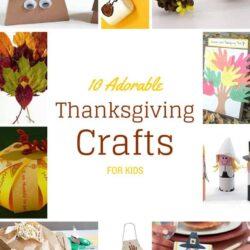 10 Adorable DIY Thanksgiving Crafts for Kids