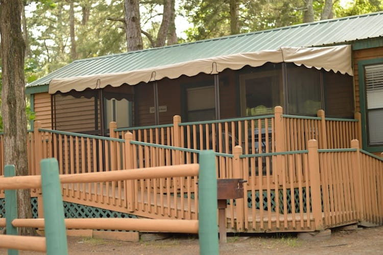Sea Pirate Campground Delux Cottage