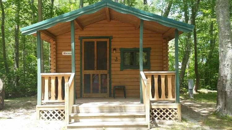 Sea Pirates Campground Basic Cabin1