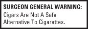 Surgeon General's Warning 180x61
