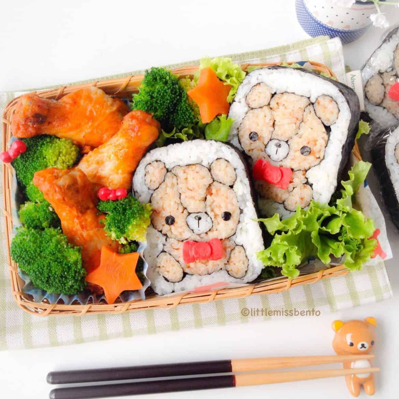 Sushi Art Bear