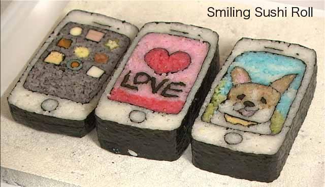 Sushi Art Cellphone