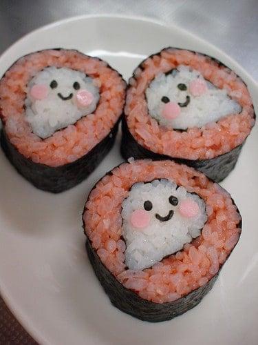 Sushi Art Ghost