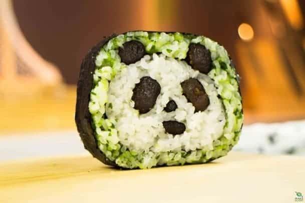 Sushi Art Panda