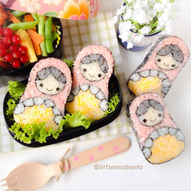 Sushi Art Russian Doll