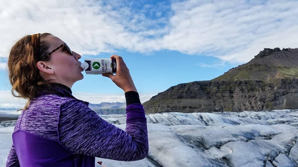 Svínafellsjökull glacier iceland