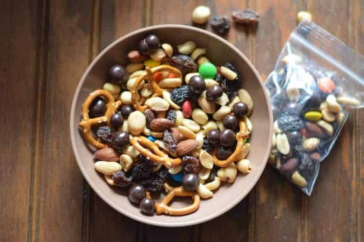Trail Mix - How to Survive Flying with a Toddler