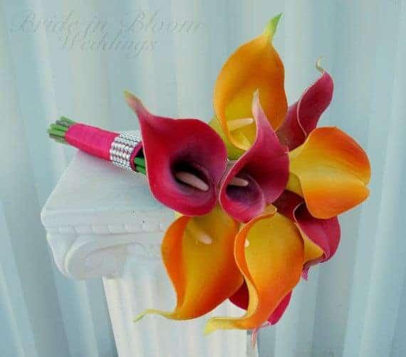 Tropical Wedding Bouquets 4