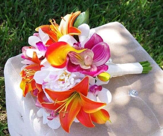 Tropical Wedding Bouquets 5