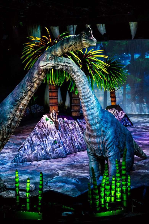 Brachiosaurus & Huxley (Photo by Patrick Murphy)