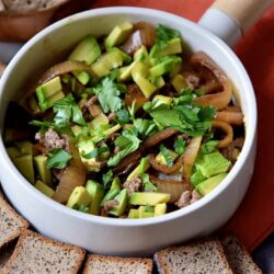 The Ultimate Avocado and Beef Fiesta Dip Recipe