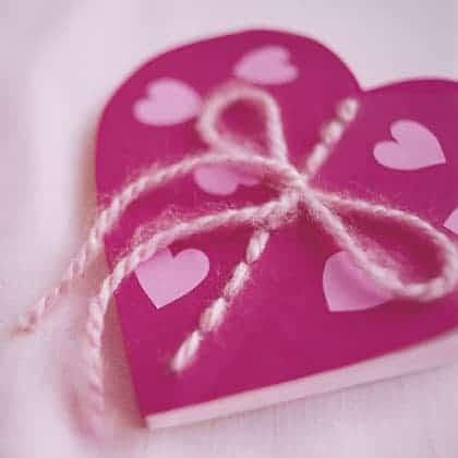 book of love valentines day craft photo 420 0298 FFR02076