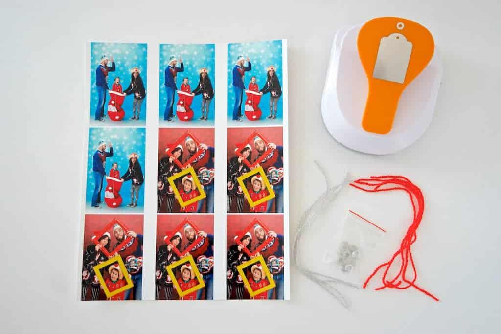 DIY Photo Gift Tags