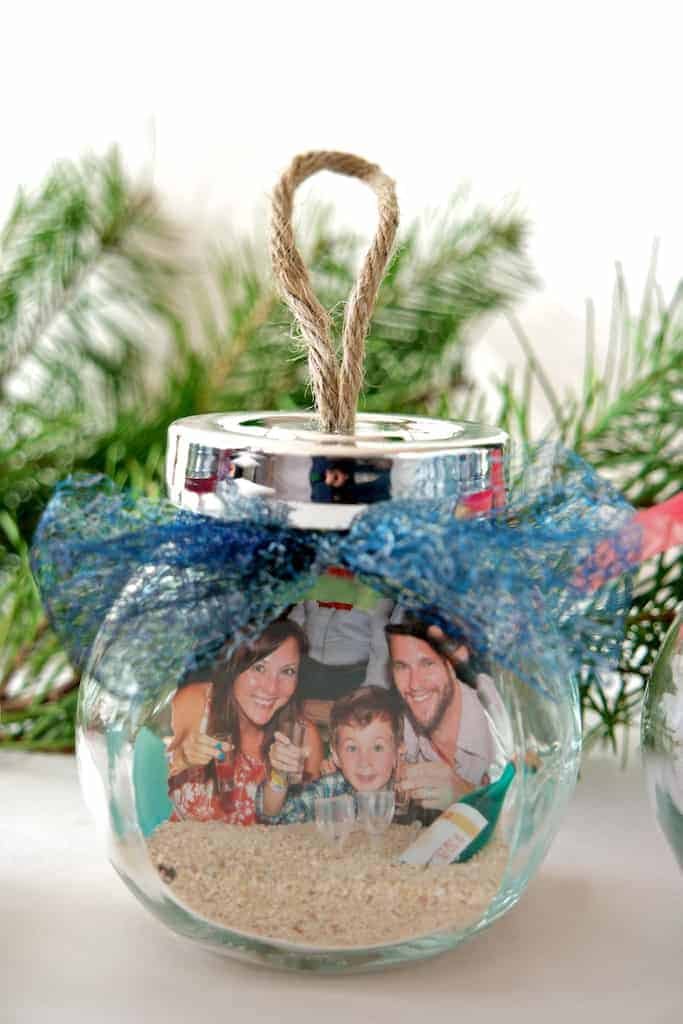 DIY Memory Jar Ornaments