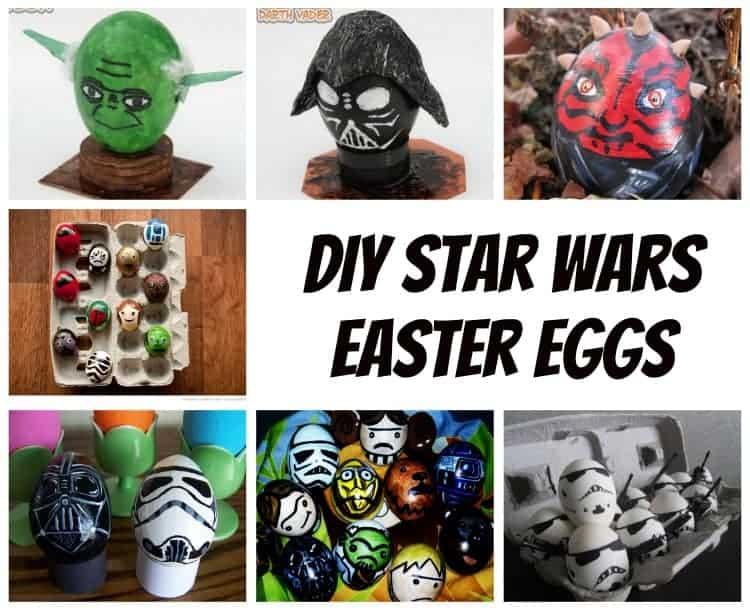 diy star wars easter eggs