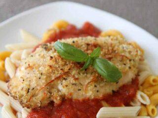 easy chicken parmigiana 3