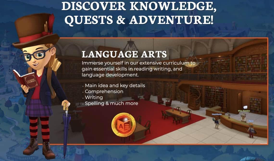 Adventure Academy screenshots
