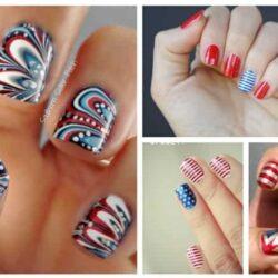 6 DIY Fourth of July Nail Art Ideas