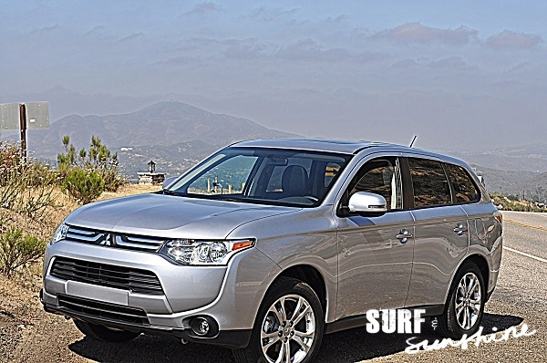 All New 2014 Mitsubishi Outlander Is Bold And Tech Savvy