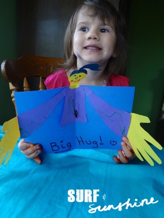 DIY Fathers Day Card