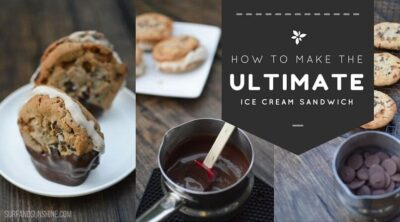 how to make the ultimate ice cream sandwich wide blog graphic
