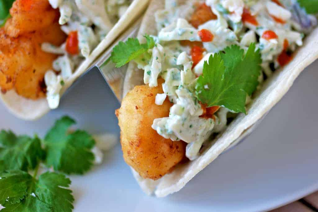 margarita battered shrimp tacos recipe 6 - Forget the beer, try Margarita Battered Shrimp Tacos instead!