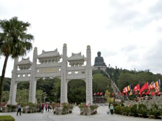 po lin monastery lantau island hong kong