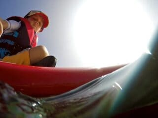 sup with gopro 1