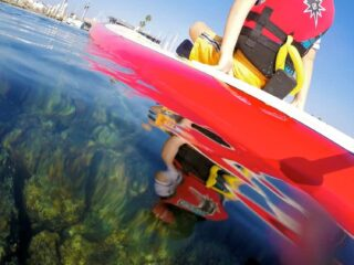 sup with gopro 4