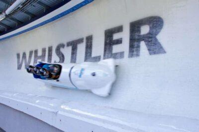 whistler sliding center bob sledding 1