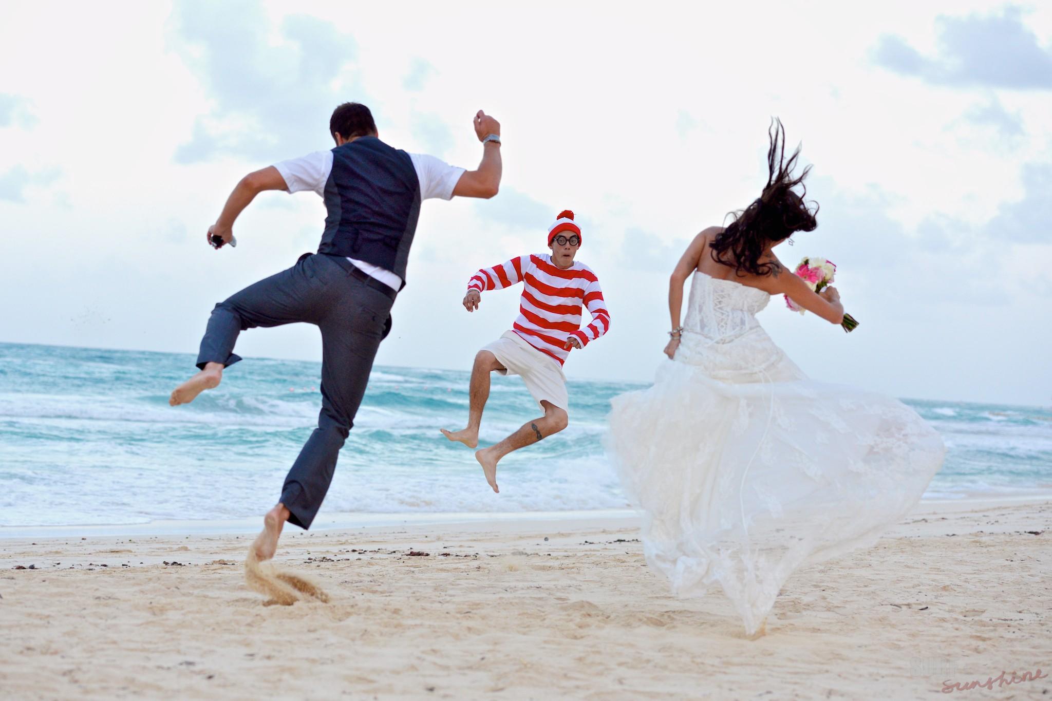 wedding heel clicks