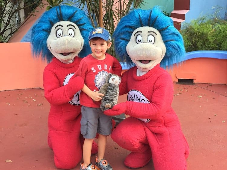 dr suess thing 1 and 2