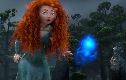 The Legend of the Will O' the wisps in Brave