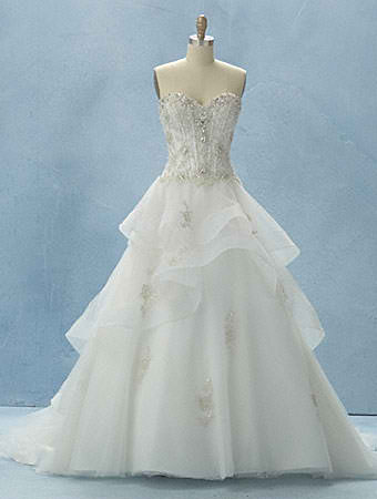 Belle - Have a True Fairy Tale Wedding With The Disney Cinderella Collection