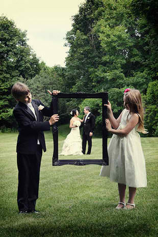 Using Props for Wedding Photos