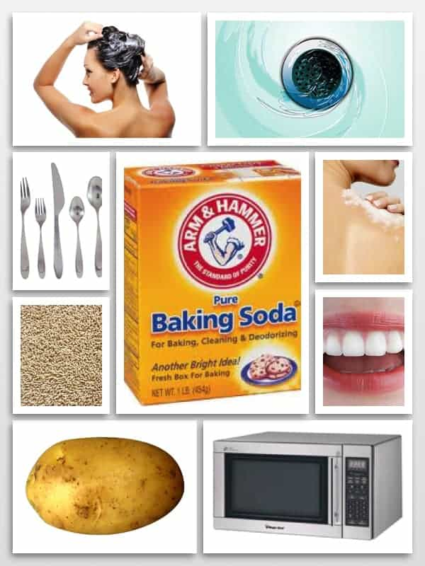 baking soda uses for beauty and home - 20 Clever Baking Soda Uses for Beauty and Home