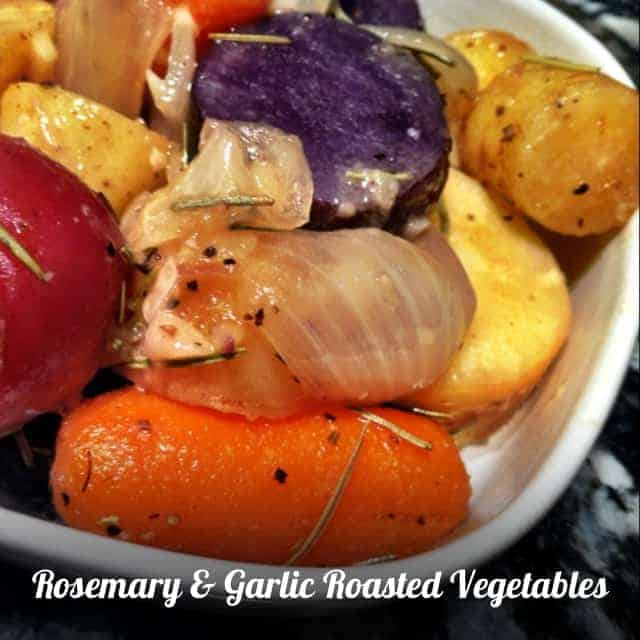 Rosemary and Garlic Roasted Vegetables Recipe