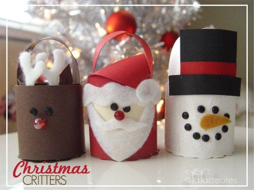 10 Cute Christmas Crafts for Kids