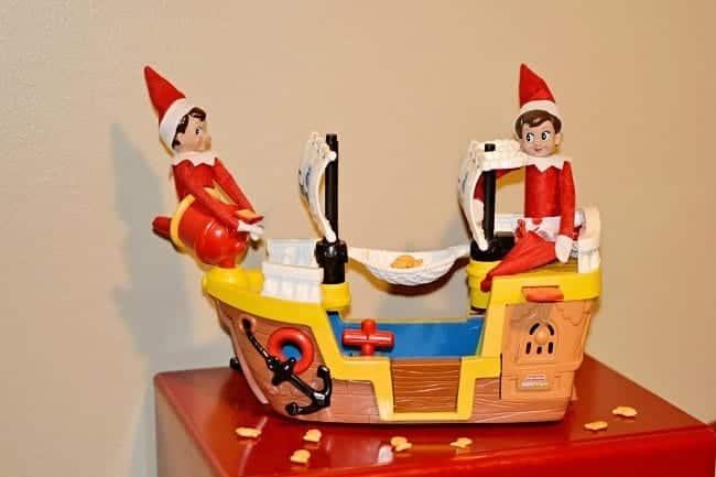 My Favorite Elf on the Shelf Photos